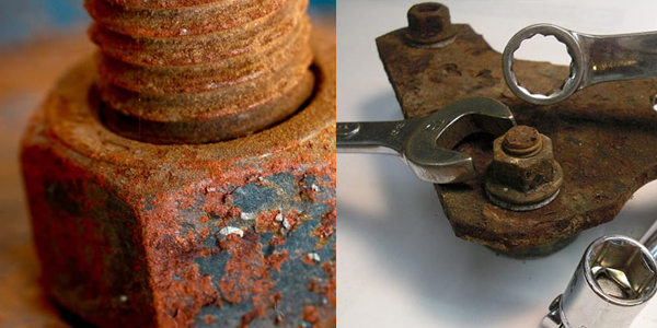 How To Remove Rusted Bolts